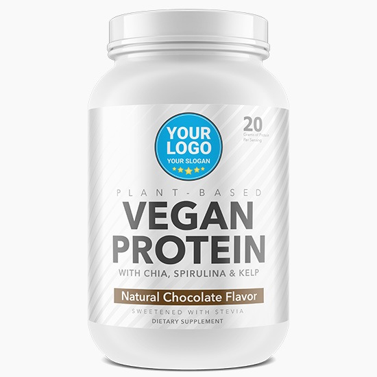 Plant Protein Shake - Private Label Supplement Manufacturing