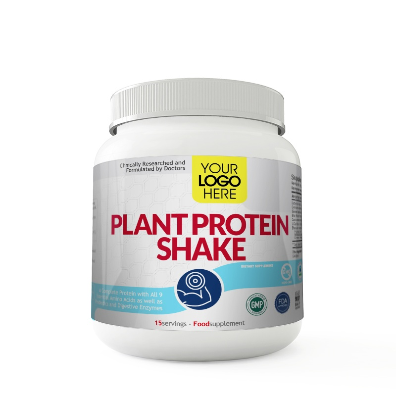 This is a photo of Clever White Label Protein Powder