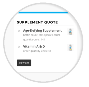 Private Label Supplement Quote Builder