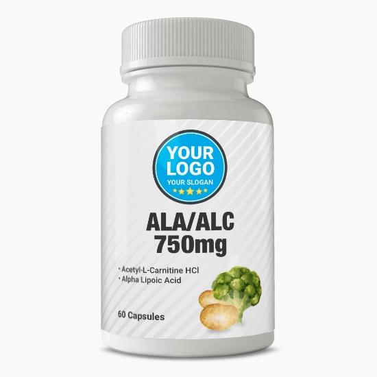 Private Label ALA and ALC 750mg