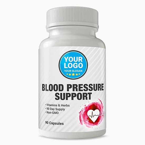 Private Label Blood Pressure Supplement