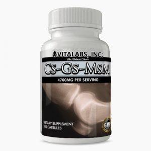 Vitalabs Cs-Gs-MSM