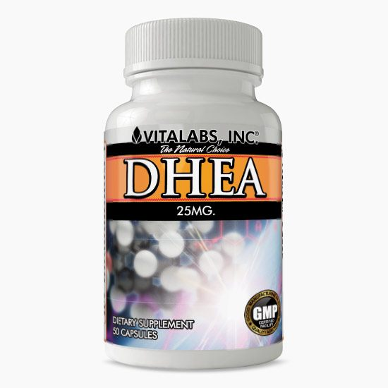 Vitalabs DHEA 25mg
