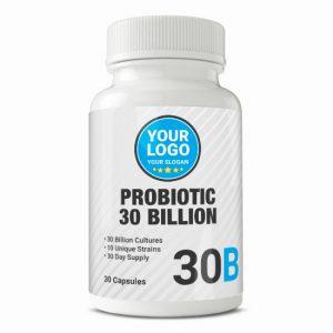 Private Label Probiotic 30 Billion
