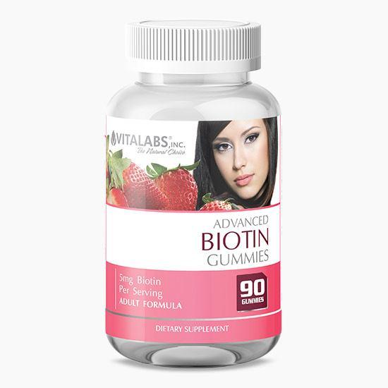 Vitalabs Advanced Biotin Gummies