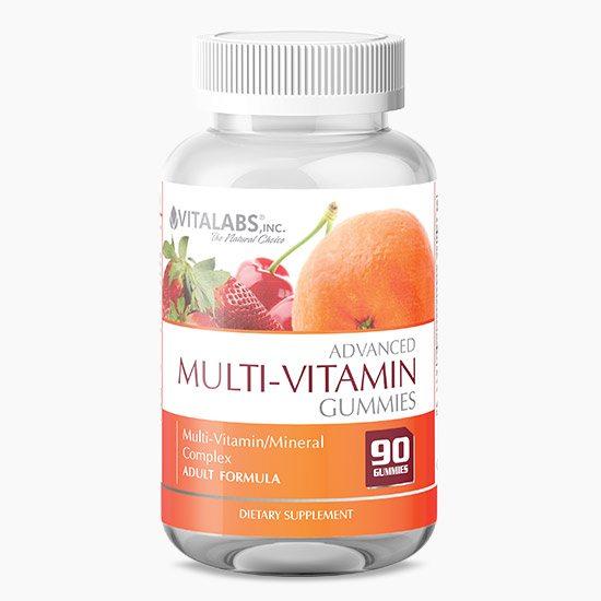Vitalabs Advanced Multi-Vitamin Gummies