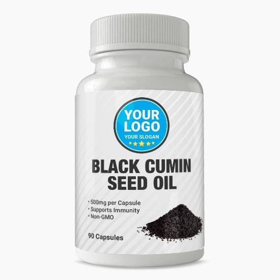 Private Label Black Cumin Seed Oil Supplement