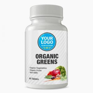 Private Label Organic Greens Supplement