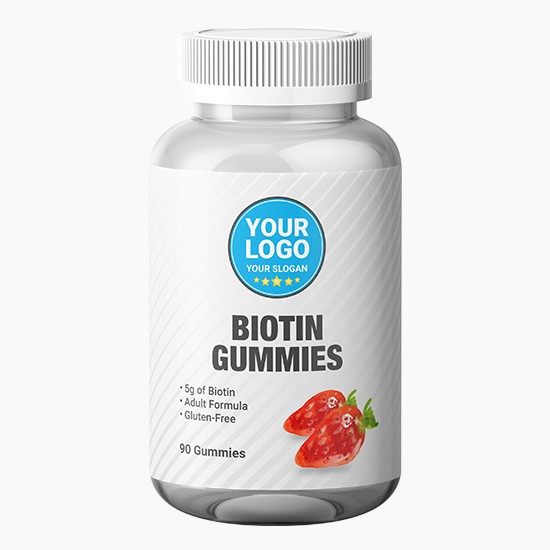 Private Label Biotin Gummies