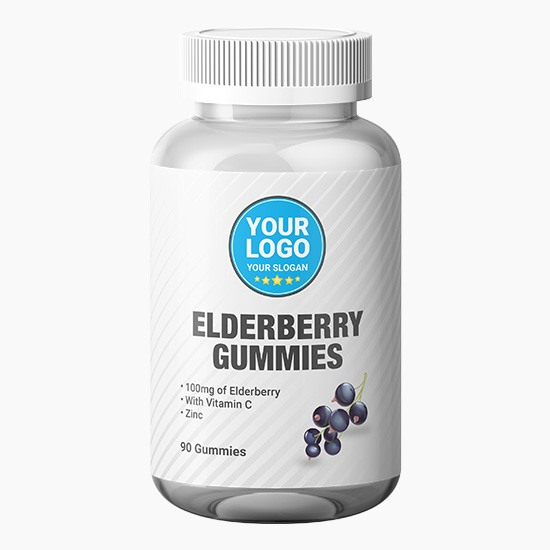 Private Label Elderberry Gummies