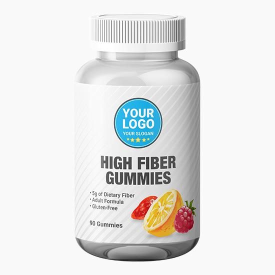 Private Label High Fiber Gummies