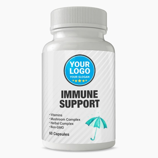 Private Label Immune Support Supplement