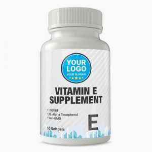 Private Label Vitamin E Supplement