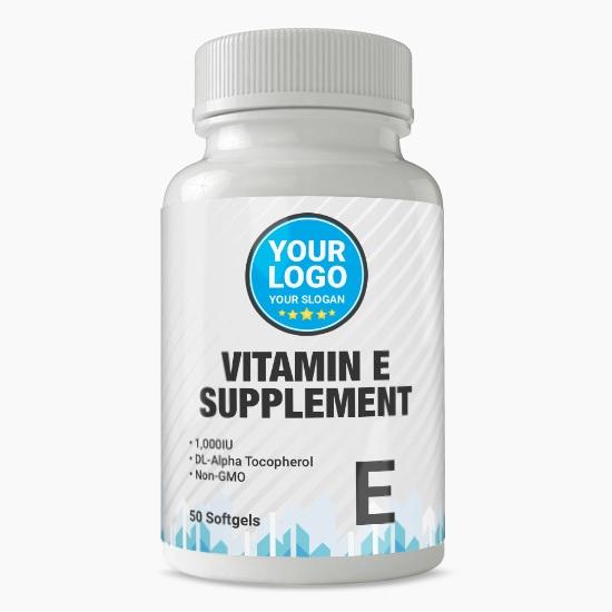 Private Label Vitamin E Supplement