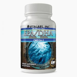Vitalabs EPA DHA Omega-3 Supplement
