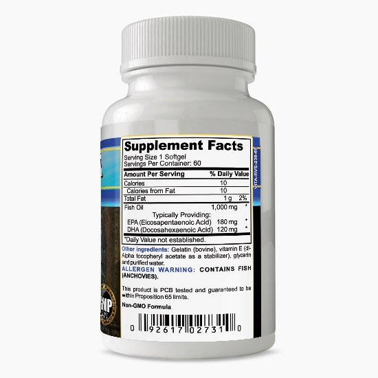 Vitalabs EPA DHA Omega-3 Supplement