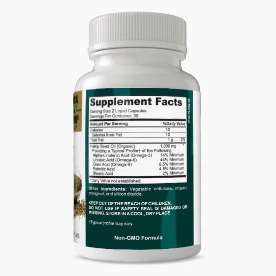 Vitalabs Hemp Seed Oil