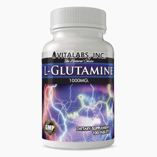 Vitalabs L-Glutamine Tablets