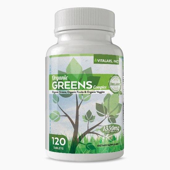 Vitalabs Organic Greens Complex