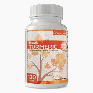 Vitalabs Organic Turmeric