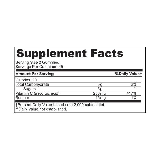 Private Label Vitamin C Gummies