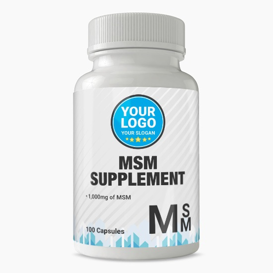 Private Label MSM Supplement