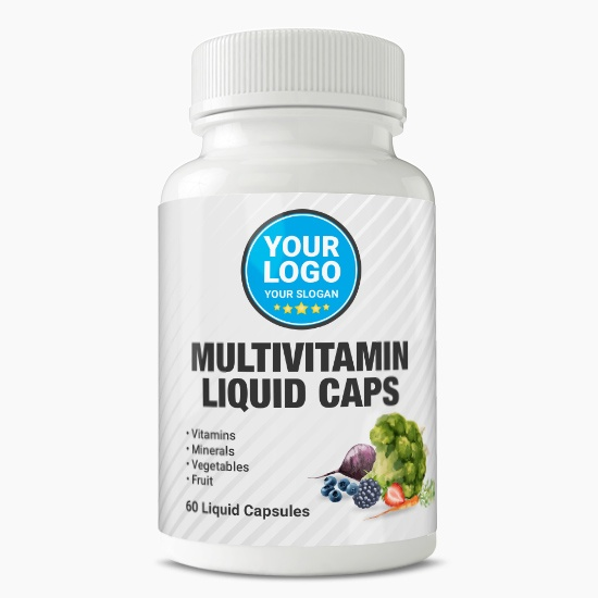 Private Label Multivitamin Liquid Capsules