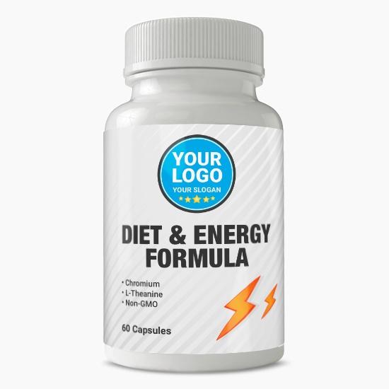 Private Label Diet & Energy Formula