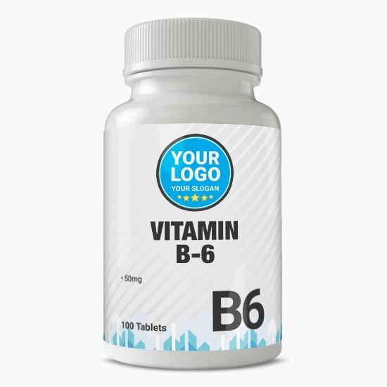 Private Label Vitamin B-6