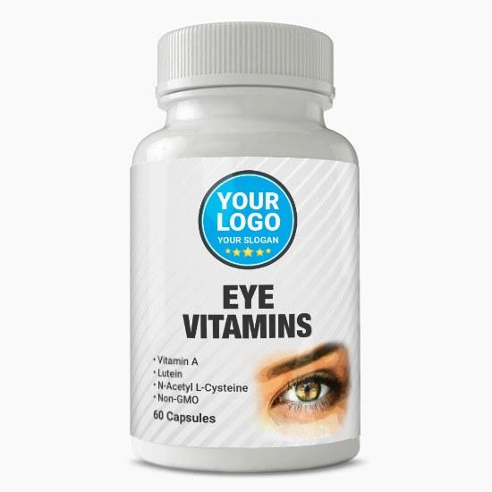 Private Label Eye Vitamins