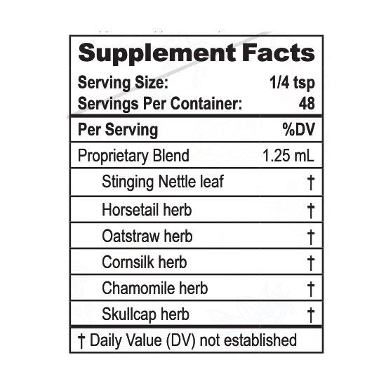 Private Label Kids Liquid Calcium Supplement Facts