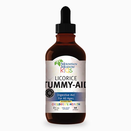 Mountain Meadow Herbs Kids Licorice Tummy-Aid