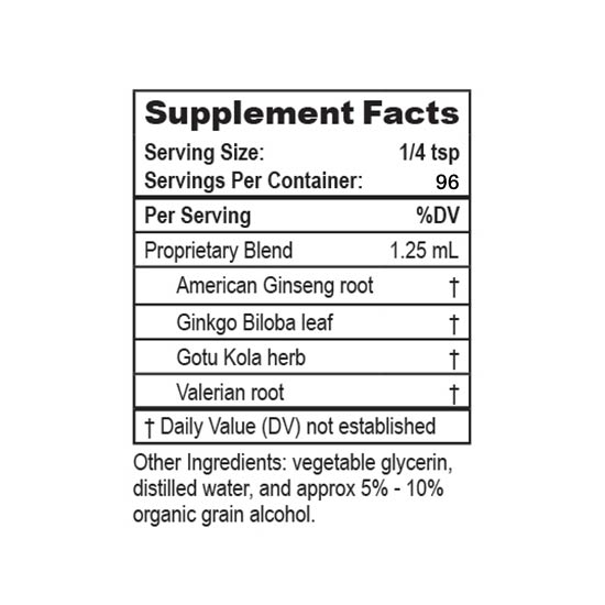 Mountain Meadow Herbs Kids Natural Attention-Aid Supplement Facts