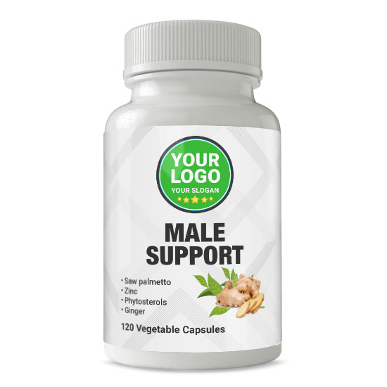 Private Label Male Support