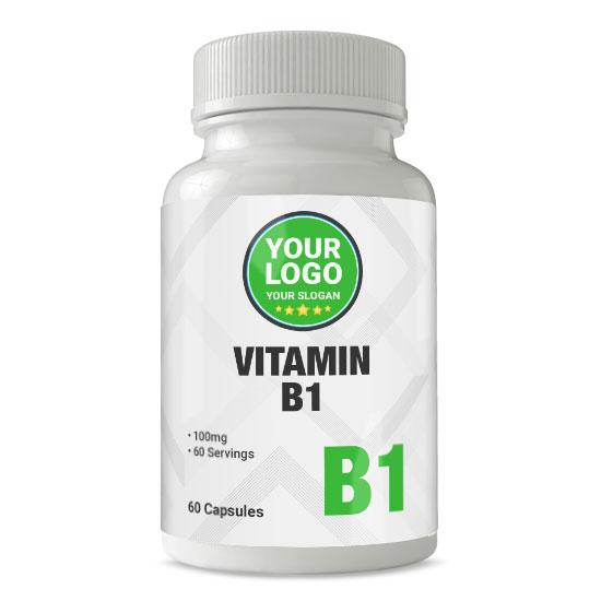 Private Label Vitamin B1